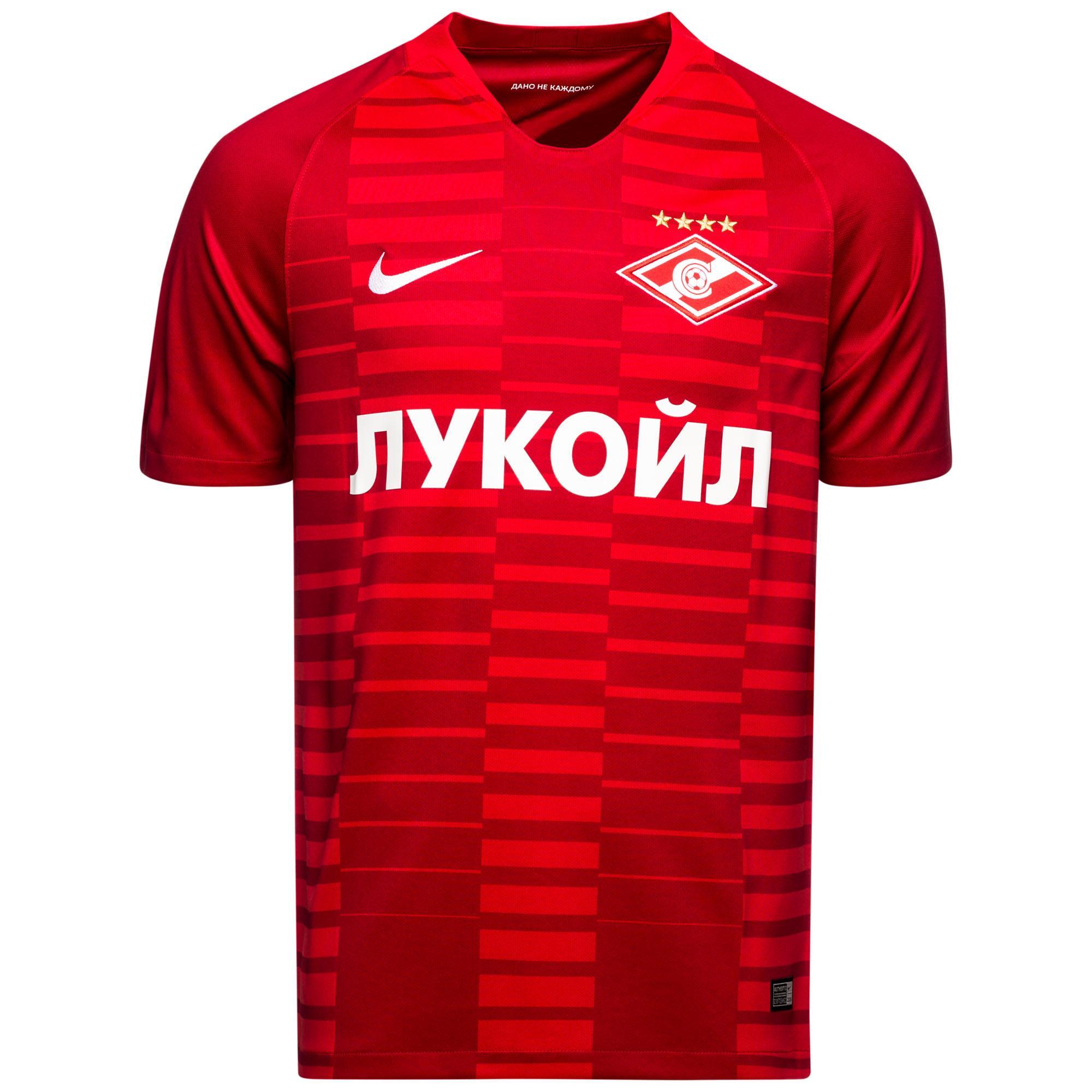 "Домашняя футболка ""Спартака"" сезона 2018-19"
