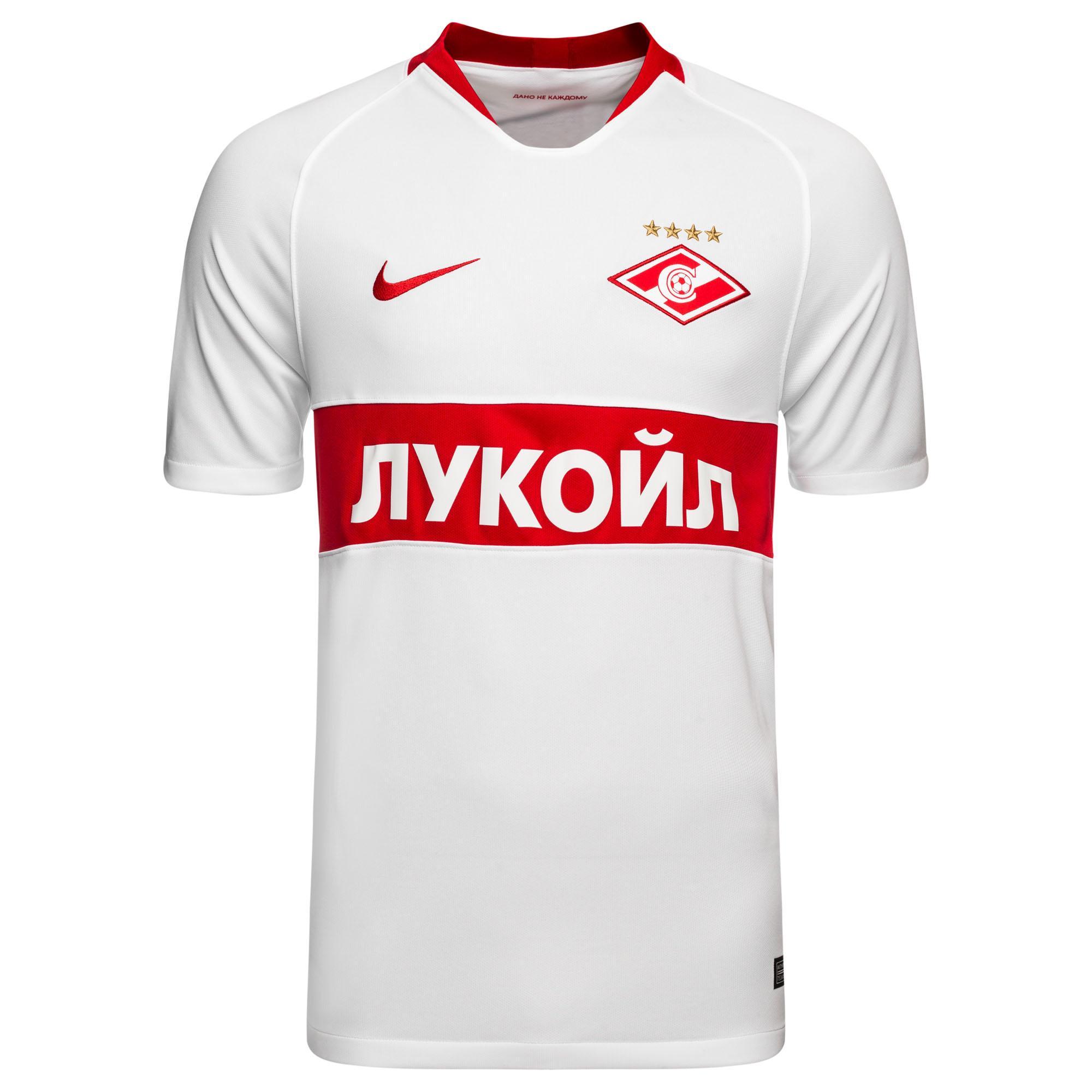 "Выездная футболка ""Спартака"" сезона 2018-19"