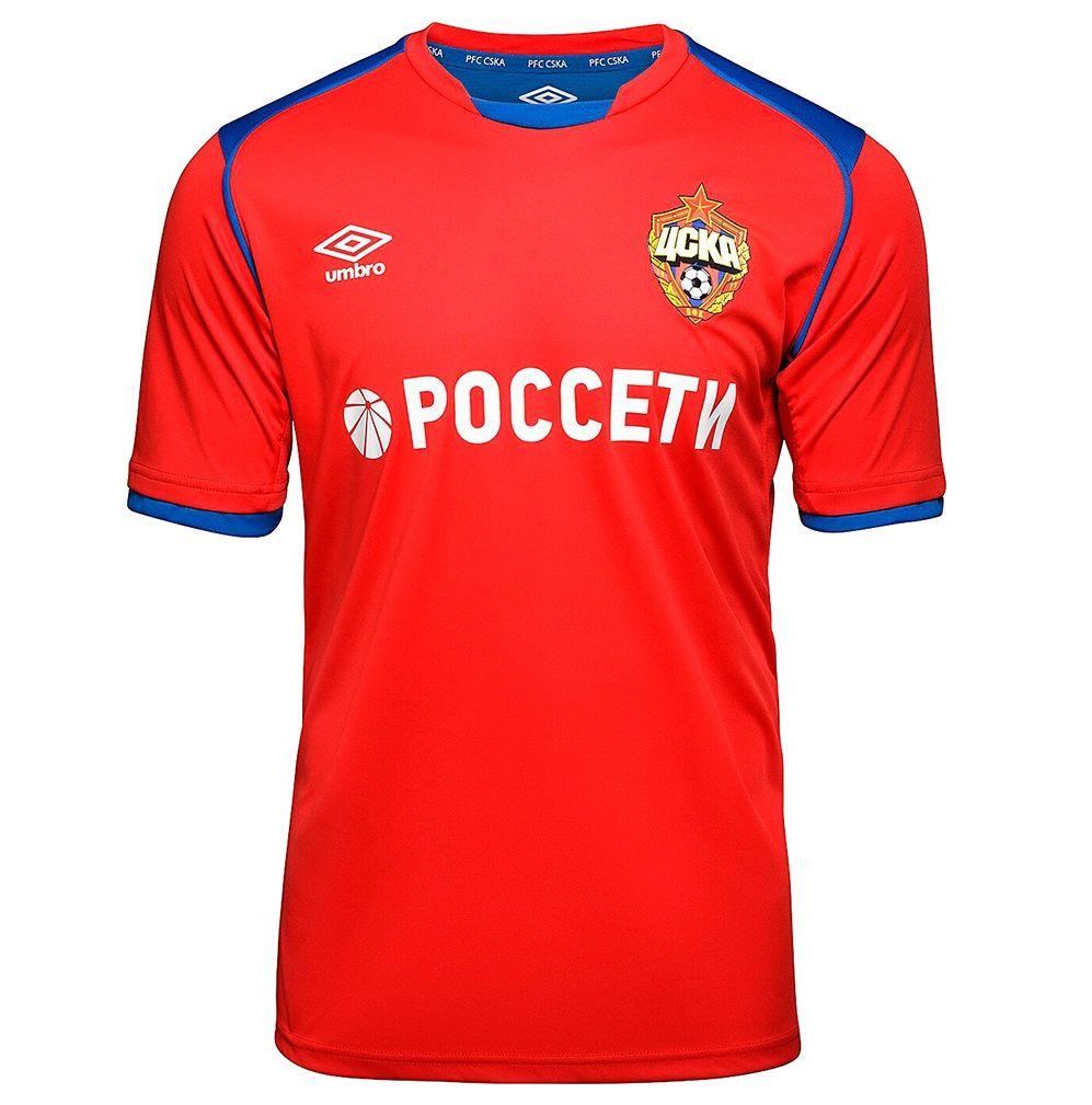 Домашняя форма ЦСКА