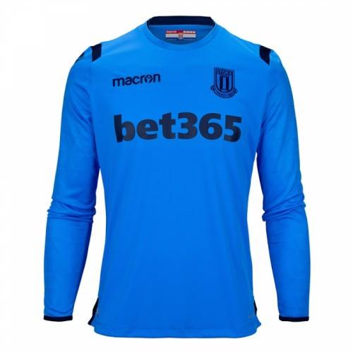 15f484fda6f1 Мужская форма голкипера футбольного клуба Сток Сити 2018 2019 (комплект   футболка + шорты
